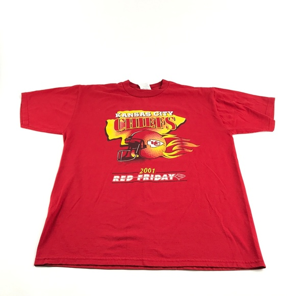 259e3308 Vintage Kansas City Chiefs Football T-Shirt